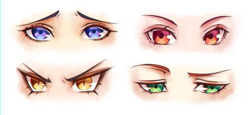 Eyes Practice 2 by steelzakung222