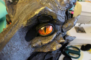 Alduin V2 Eyes (close up) by BlueEyes9