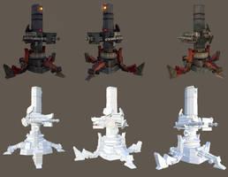 rocket luncher unit by tosbin