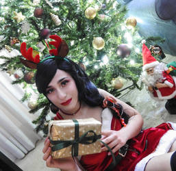 Christmas Akali (og) from League of Legends by GeoKuromi