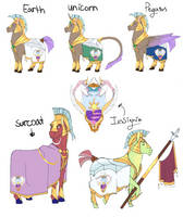 Celestia Royal Guard by AshuriKRBG