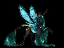 Headcanon: Queen Chrysalis by AshuriKRBG