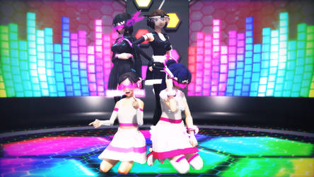 [MMD] Cyber Group by Streaming-Heart