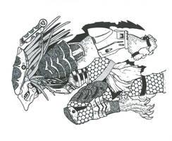 Boar Predator by DementedInk