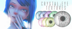Crystal Eye Textures by ALLiLReigan
