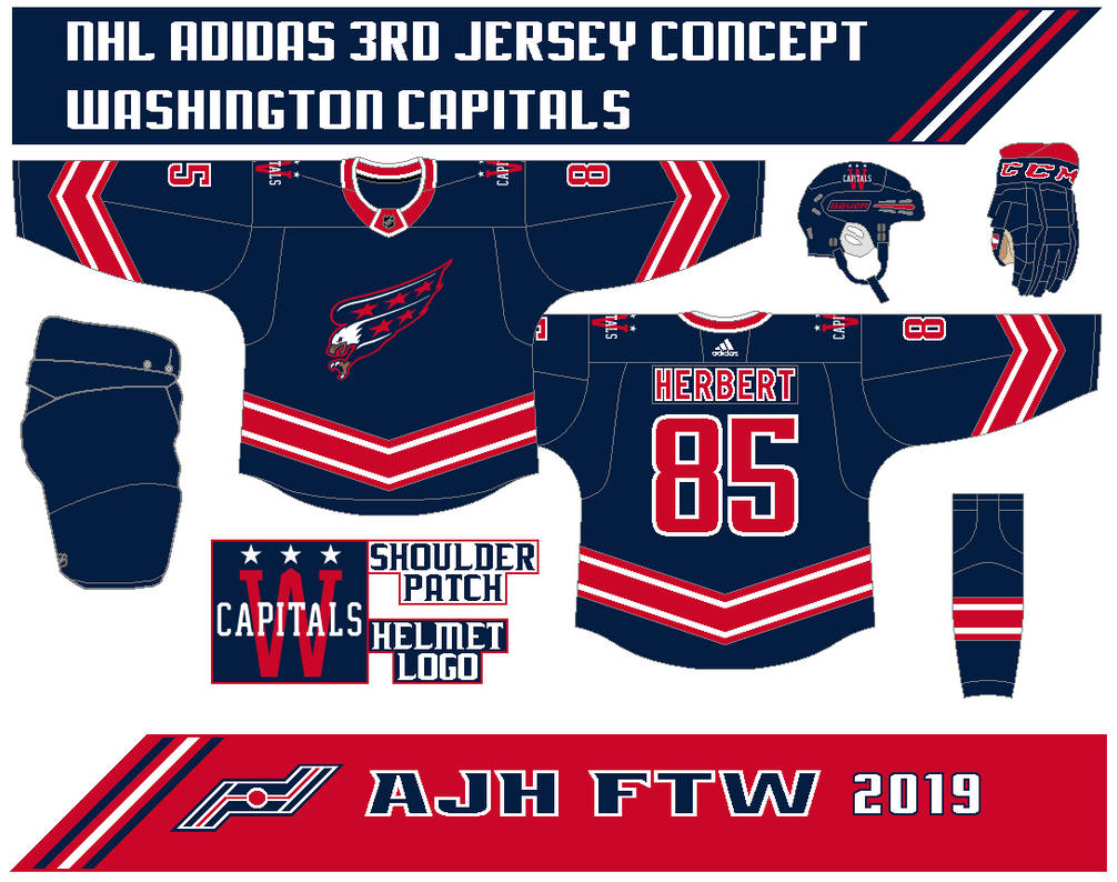 bb84d9def06 Washington Capitals 3rd Jersey concept