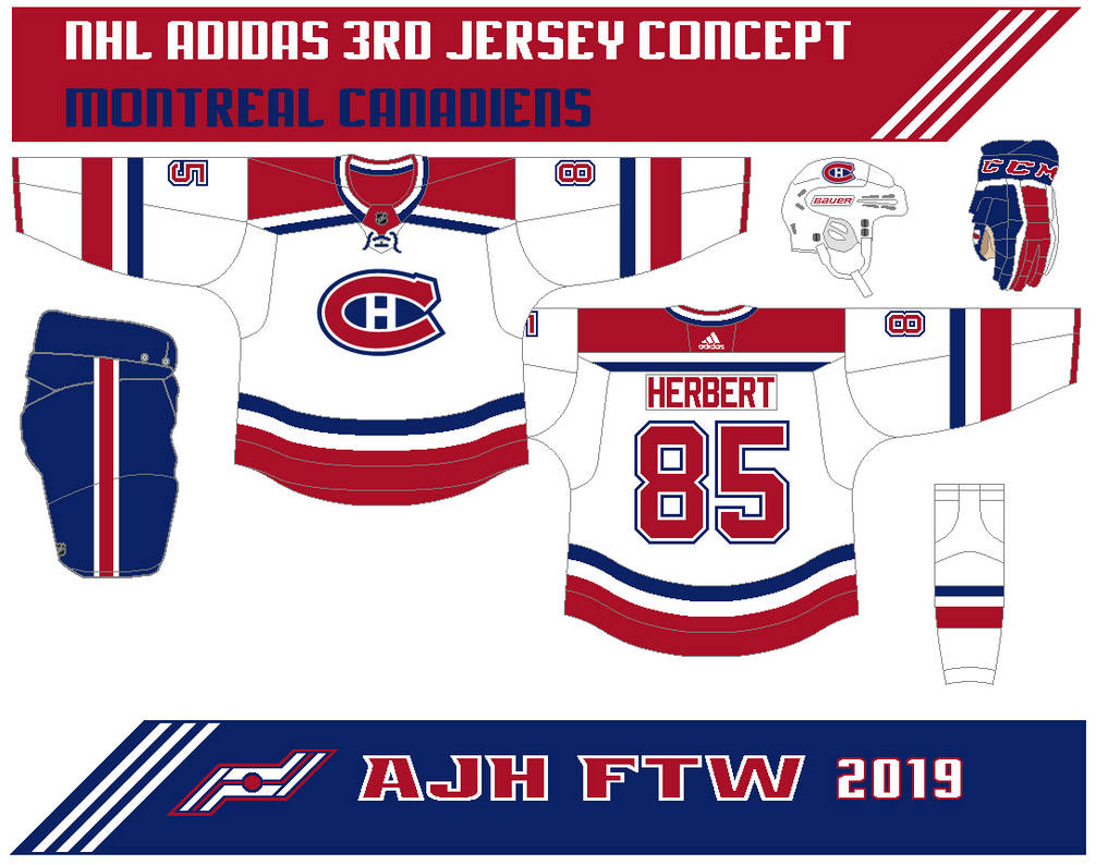 109b1f125 This 3rd jersey is white with thick red stripes on the arms