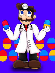 Dr Mario by Nunkinz1000