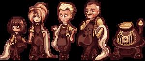 [RL] The Mustard Odd Fellas by TerracotaScarf