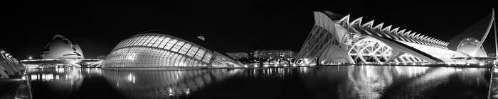 Valencia panorama by Drodil