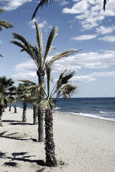 Spanish beach by Drodil