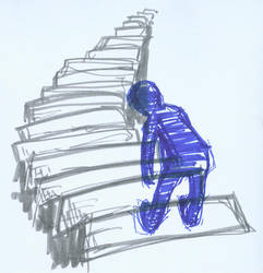 stairs. by konno
