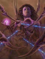 Kerrigan-Gameover by CChilson-art