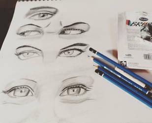 Eye Study by kreativemente