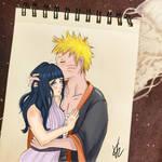 Naruto and Hinata by semiko