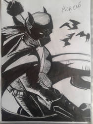 Batman Inked by MugenMoray