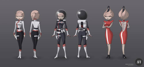 Space daisy 2013-11-19 by ScienceFictionAgency