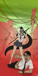 Always happy japan by ScienceFictionAgency