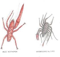 Askewbugs of planet Ullr by Preradkor