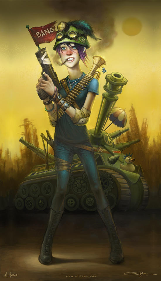 Tank Girl by ali-tunc