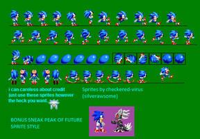 classic sonic REVAMPED + BONUS by checkered-virus