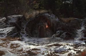 Door in the Woods by Solfour