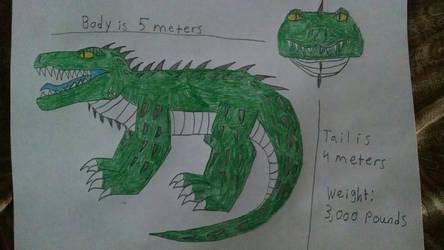 Swampasuchus by Kiryu2012