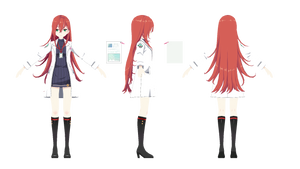 [MMD] Soul Worker Sedurin by Horiew