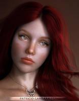 Jessie Portrait by PGandara