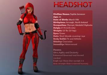 Headshot Data File by PGandara
