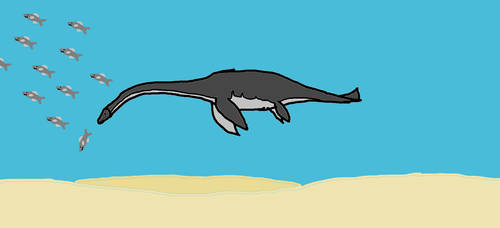 Plesiosaurus by Animedino321