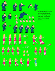 The Smiths Warner Styled Sprites by dilser101