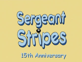 Sergeant Stripes 15th Anniversary by dilser101