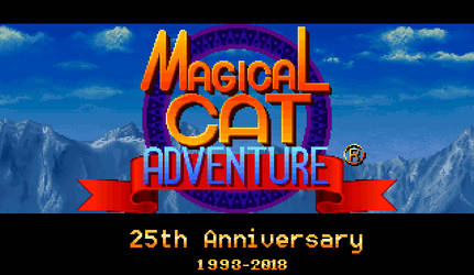 Magical Cat Adventure 25th Anniversary by dilser101