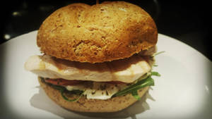 Chicken burger :) by CookConcept