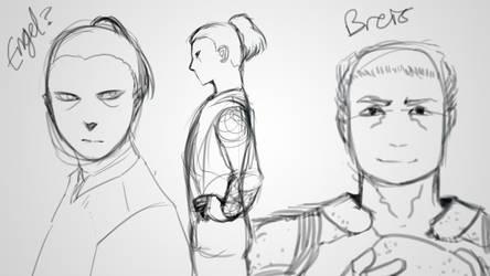 Engel and Breis by Kajoua