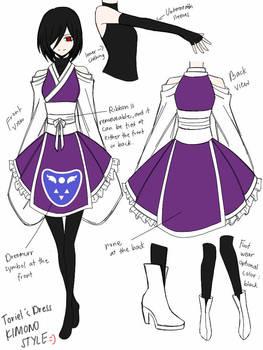 Toriel Kimono Design By Cneko Chan On Deviantart