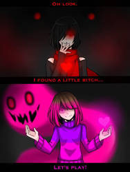DETERMINATION vs FEAR(Ver.1) by CNeko-chan
