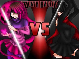DEATH BATTLE: Bete Noire vs Kitten by CNeko-chan