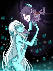 Siren and Vampire by CNeko-chan