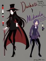 Genderbend: Duke and Missi by CNeko-chan