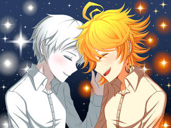 The Sun and Moon [The Promised Neverland] by CNeko-chan