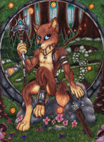 Forest Shaman by Specter1099