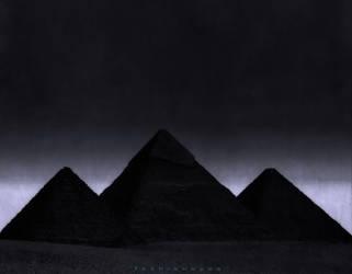 Egyptian pyramids by fashioneyes
