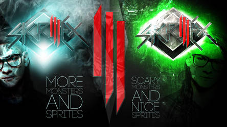 SKRILLEX - SCARY MONSTERS by JakePhotoshopt