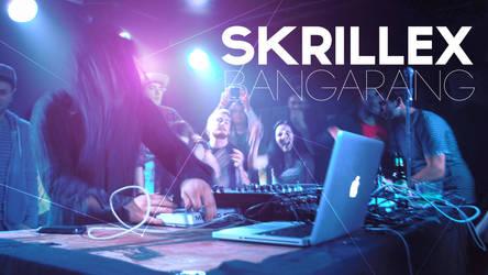SKRILLEX - BANGARANG Wallpaper by JakePhotoshopt