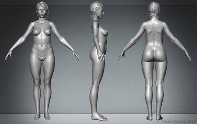 Female Anatomy by HeV3D