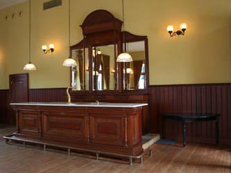 The empty bar by jinterwas