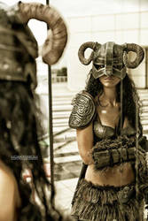Cosplay Skyrim by FlorindaZanetti
