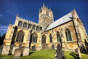 Melton Mowbray Church by MichaelJTopley